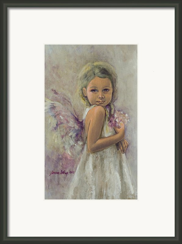 From Heaven... Framed Print By Dorina  Costras