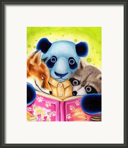 From Okin The Panda Illustration 10 Framed Print By Hiroko Sakai