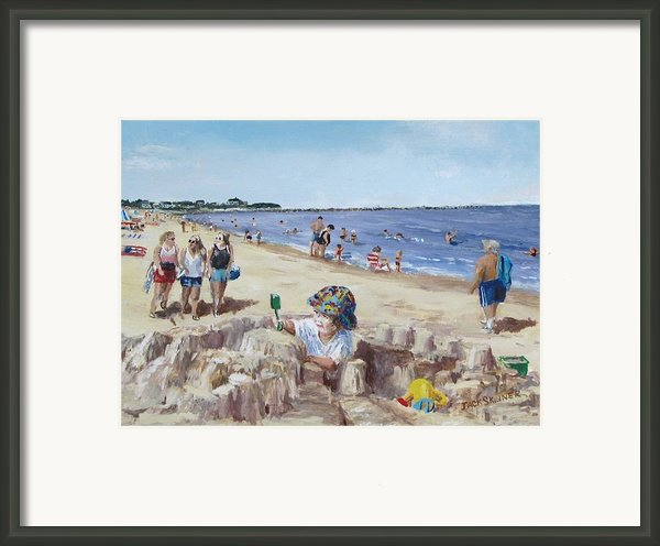 From Sandcastles To College Framed Print By Jack Skinner