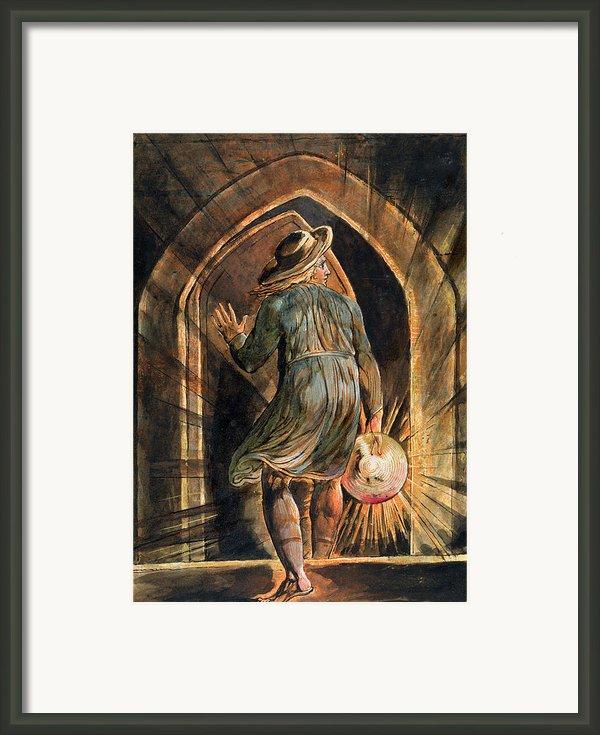 Frontispiece To Jerusalem Framed Print By William Blake