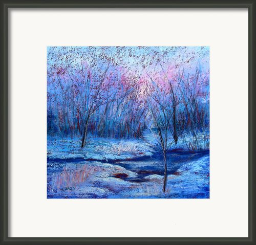 Frosty Morning Framed Print By Christine Bass