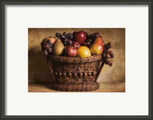 Fruit Basket Still Life Framed Print By Andrew Soundarajan