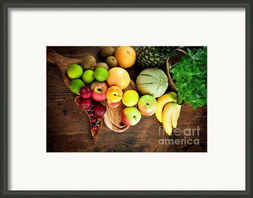 Fruit Variety Framed Print By Mythja  Photography