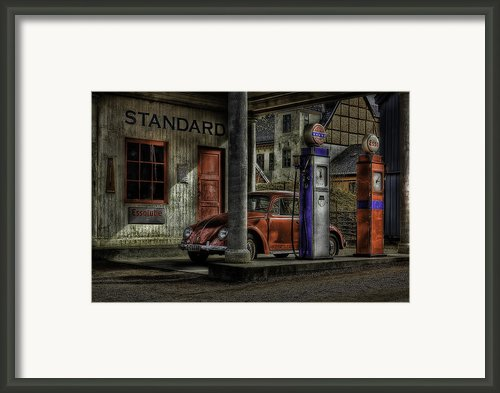 Fuel Framed Print By Erik Brede