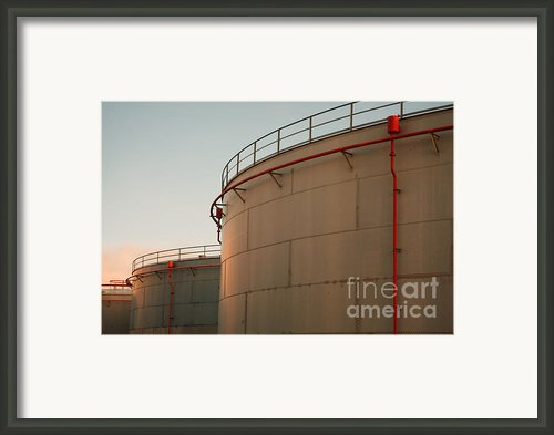 Fuel Tanks Framed Print By Gaspar Avila