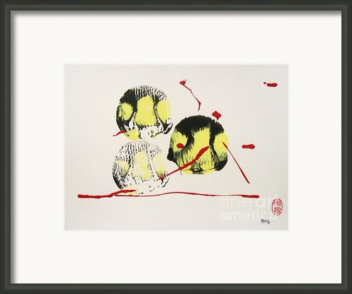Fugu Ichi Framed Print By Pg Reproductions