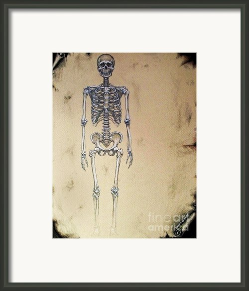 Full Frontal Framed Print By Danny Jimenez