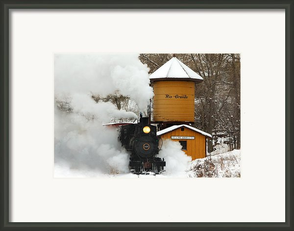 Full Steam Ahead Framed Print By Ken Smith