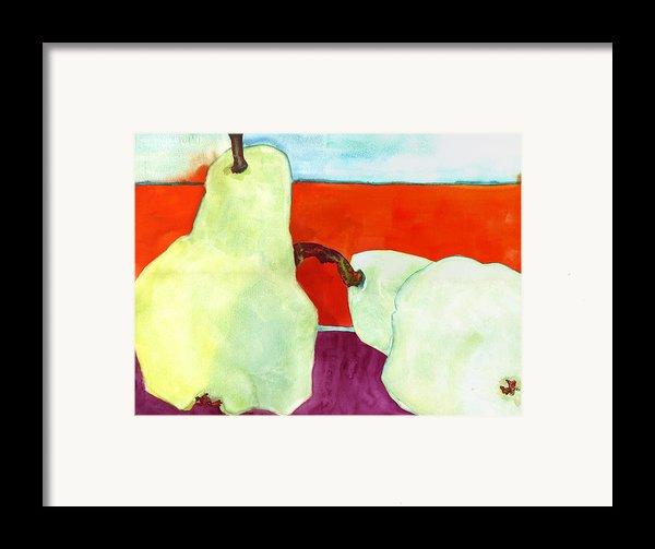 Fundamental Pears Still Life Framed Print By Blenda Studio