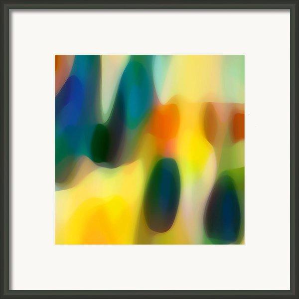 Fury Rain 1 Framed Print By Amy Vangsgard