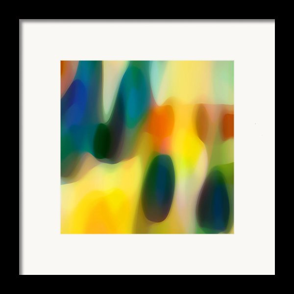 Fury Rain 1 Framed Print By Amy Vangsgard