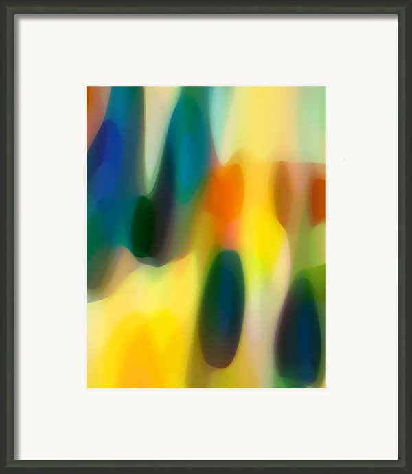 Fury Rain 3 Framed Print By Amy Vangsgard