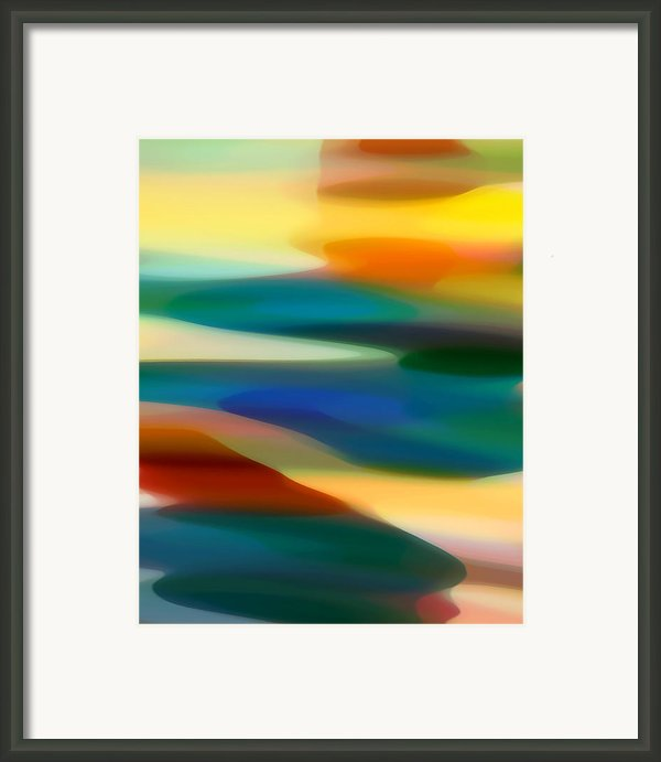 Fury Seascape 3 Framed Print By Amy Vangsgard