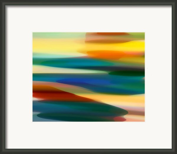 Fury Seascape 4 Framed Print By Amy Vangsgard