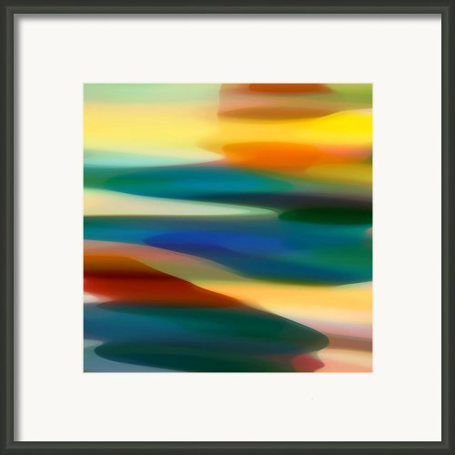 Fury Seascape 5 Framed Print By Amy Vangsgard