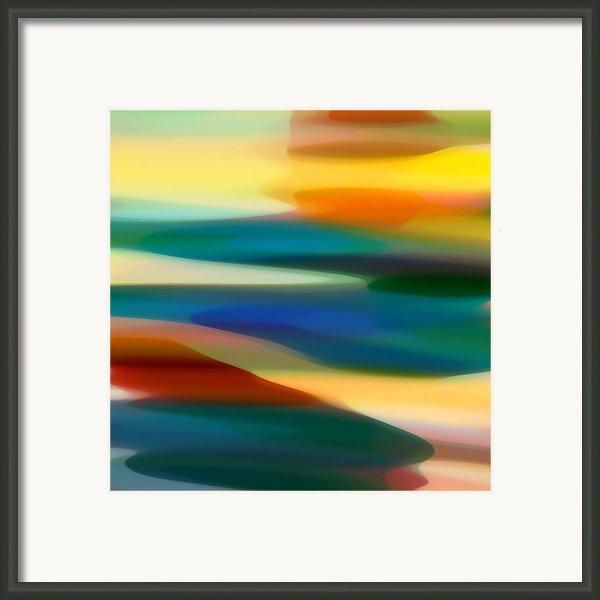 Fury Seascape 5 Framed Print By Amy Vangsgard