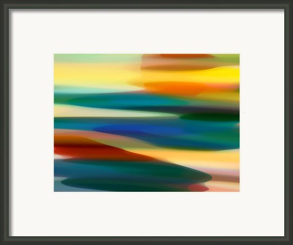 Fury Seascape 6 Framed Print By Amy Vangsgard