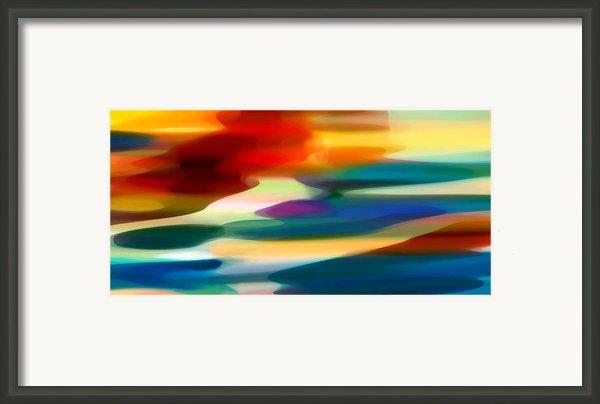 Fury Seascape Framed Print By Amy Vangsgard