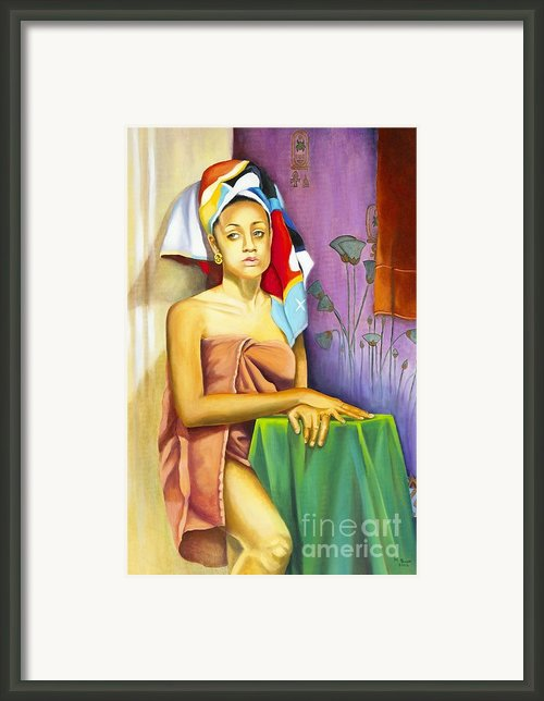 Gaby Framed Print By Marlene Book