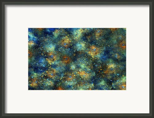 Galaxies  Framed Print By Betsy A Cutler East Coast Barrier Islands