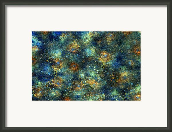 Galaxies  Framed Print By Betsy A Cutler Islands And Science