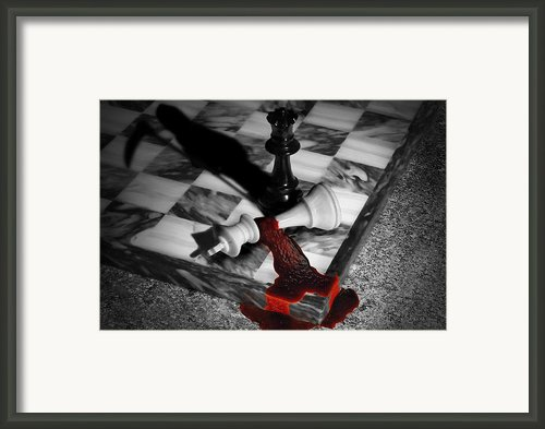 Game - Chess - Check Mate Framed Print By Mike Savad