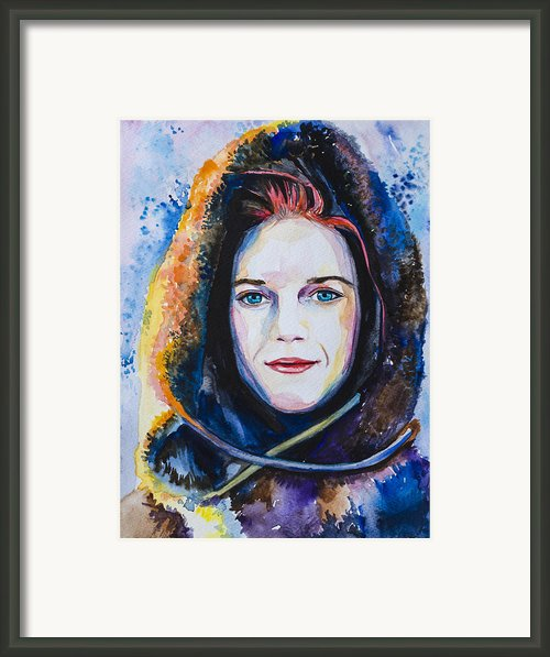 Game Of Thrones Ygritte Framed Print By Slaveika Aladjova