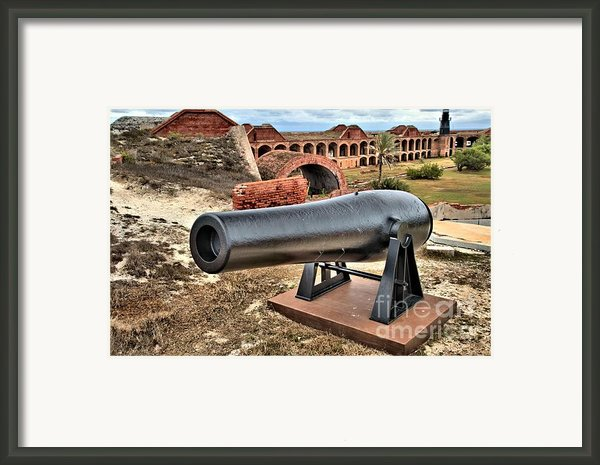Garden Key Defense Framed Print By Adam Jewell