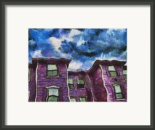 Garret Row Framed Print By Wendy J St Christopher