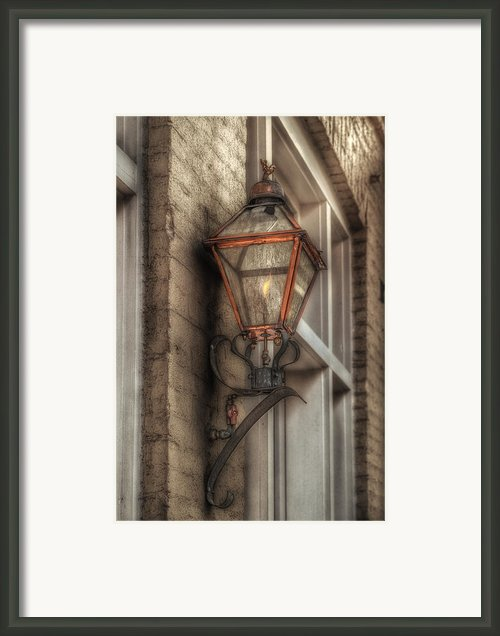 Gas Light Framed Print By Brenda Bryant