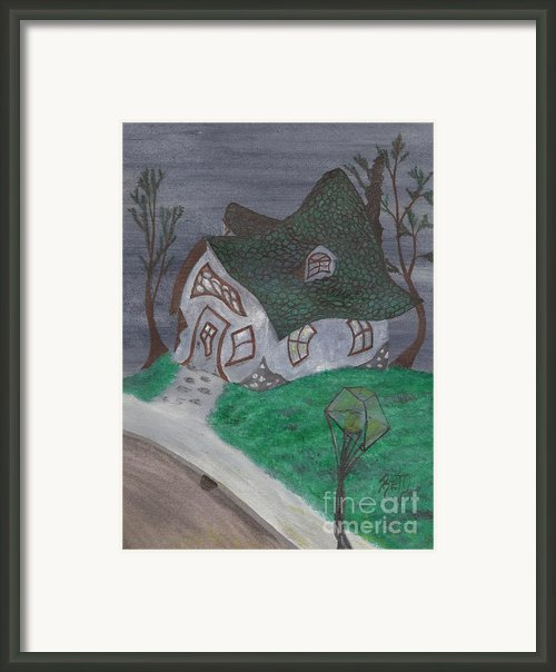 Gaslight Whimsy Framed Print By Robert Meszaros