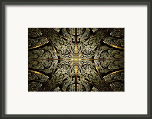 Gates Of Creation Framed Print By Anastasiya Malakhova
