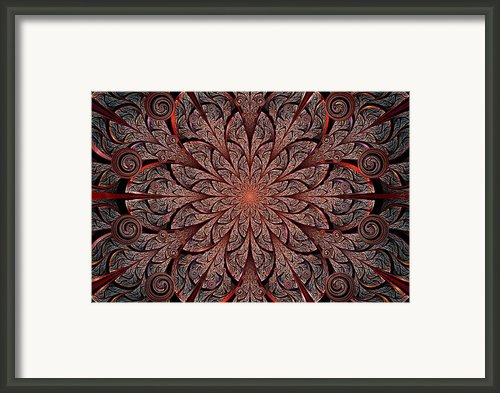 Gates Of Fire Framed Print By Anastasiya Malakhova
