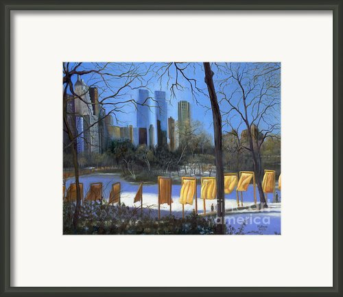 Gates Of New York Framed Print By Marlene Book