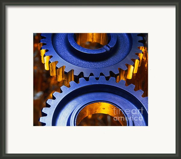 Gears Framed Print By Terry Why
