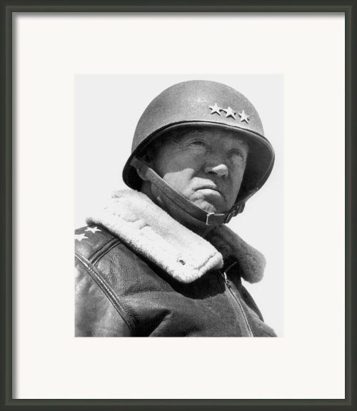 General George Patton Framed Print By War Is Hell Store