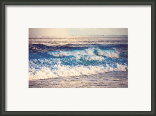 Gentle Light  Framed Print By Jenny Rainbow