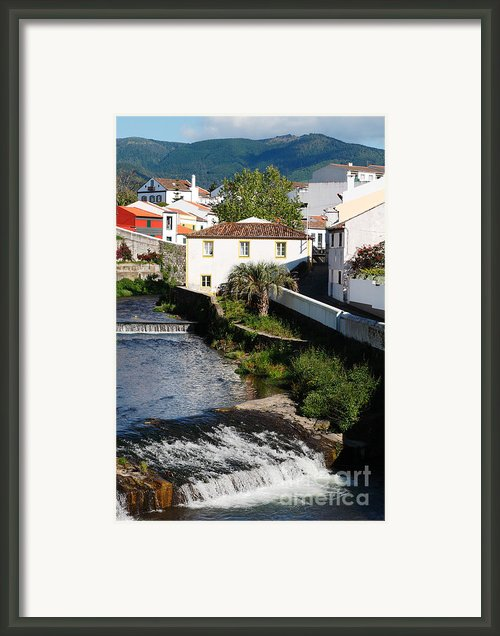 Gentle Stream Of Water Framed Print By Gaspar Avila