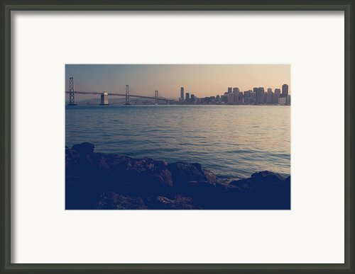 Gently The Evening Comes Framed Print By Laurie Search