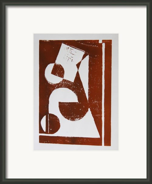 Geometry Ii Framed Print By Christiane Schulze