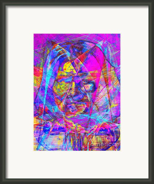 Geronimo 20130611gre-p180 Framed Print By Wingsdomain Art And Photography