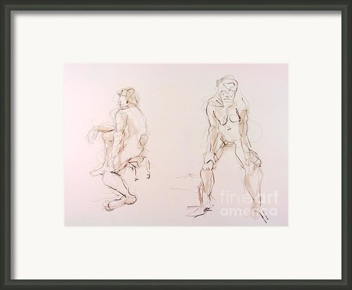 Gestures Framed Print By Andy Gordon
