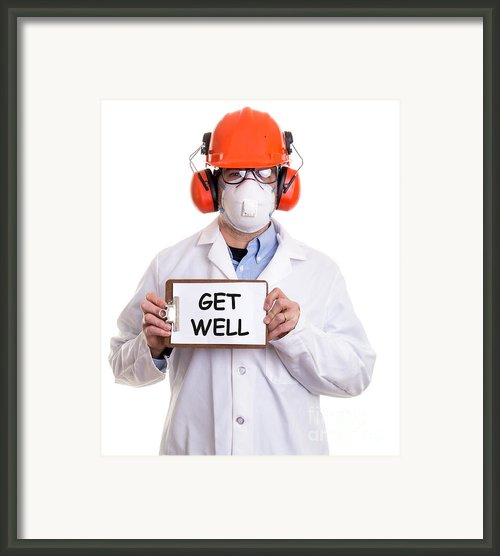 Get Well Framed Print By Edward Fielding