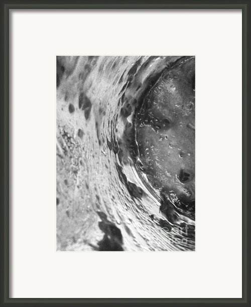 Getaway Jar B/w Framed Print By Martin Howard