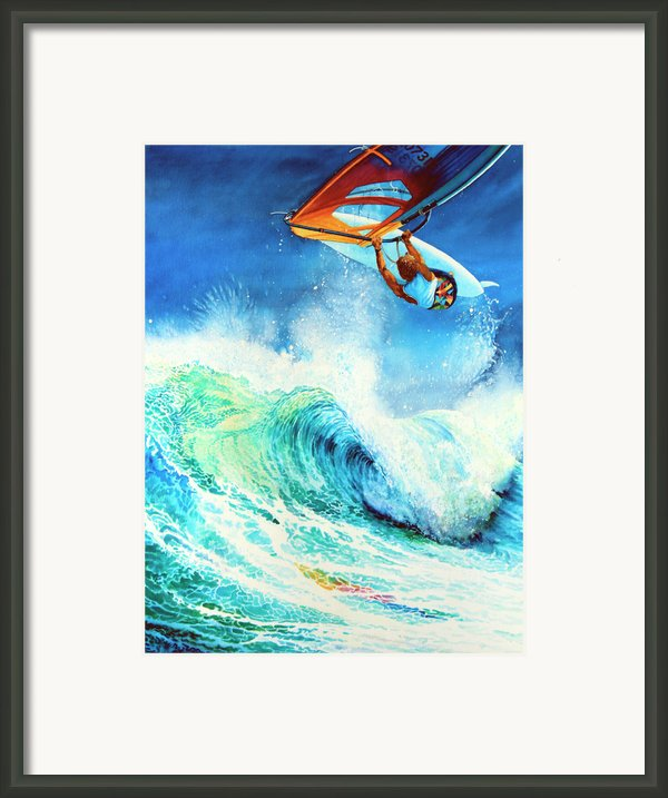 Getting Air Framed Print By Hanne Lore Koehler