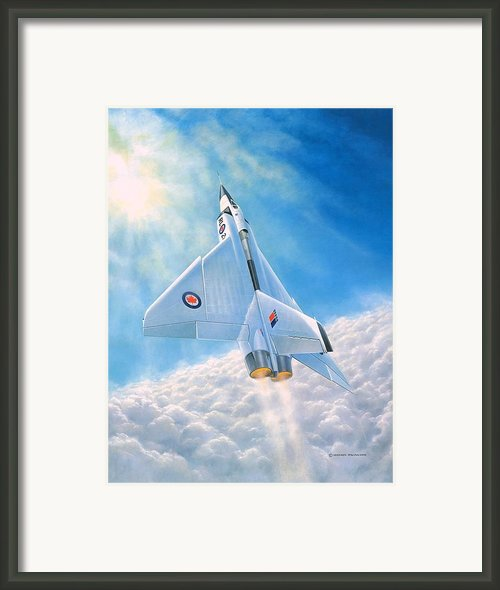 Ghost Flight Rl206 Framed Print By Michael Swanson
