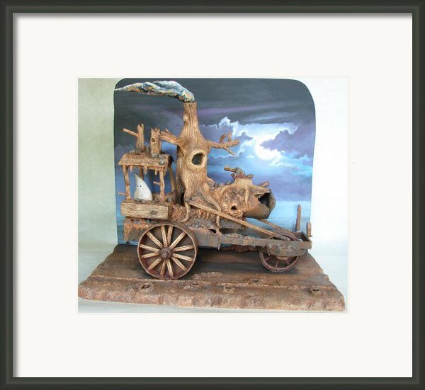 Ghost Tractor Framed Print By Stuart Swartz