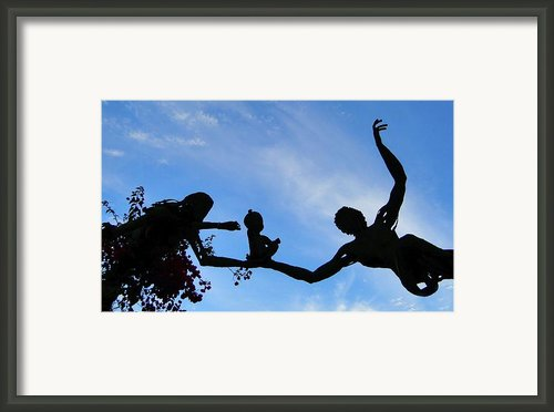 Gift Of Life Framed Print By Adam West