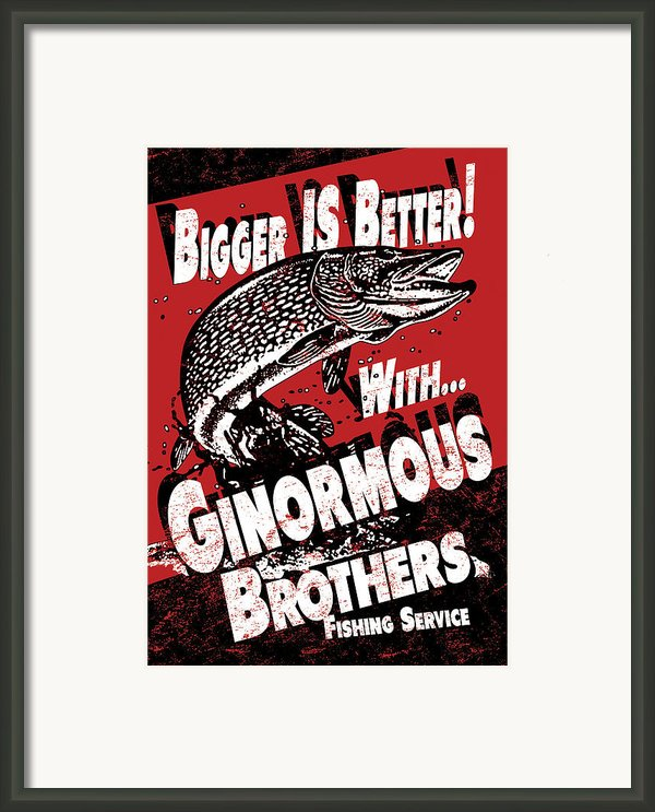 Ginormous Brothers Framed Print By Jq Licensing