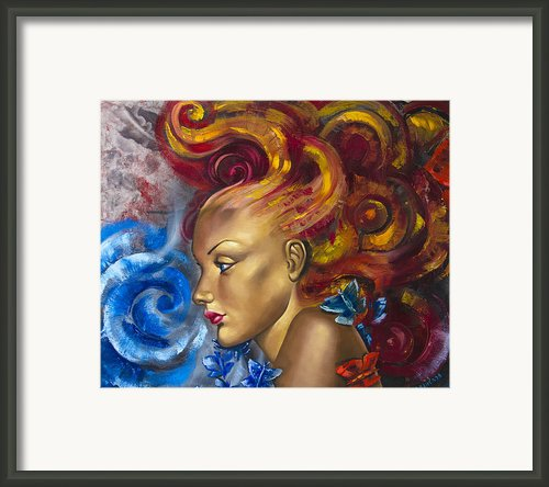 Girl Framed Print By Lyubomir Kanelov
